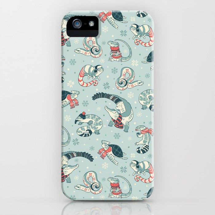 winter herps iphone case