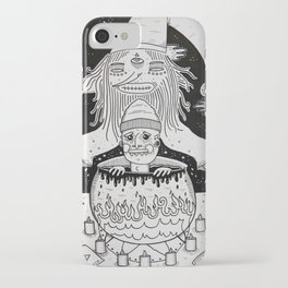Jumped out the sorcerers cauldron. iPhone Case