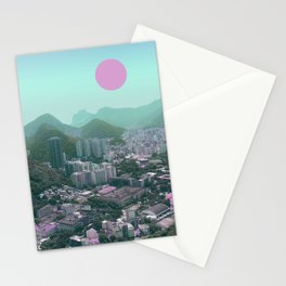 rio sun Stationery Cards