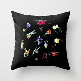 Emerge - Fritilleries Throw Pillow