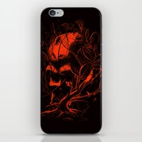 vader iPhone & iPod Skins featuring VADER by nicebleed
