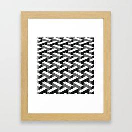 Escher pattern I Framed Art Print