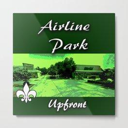 Airline park Metal Print