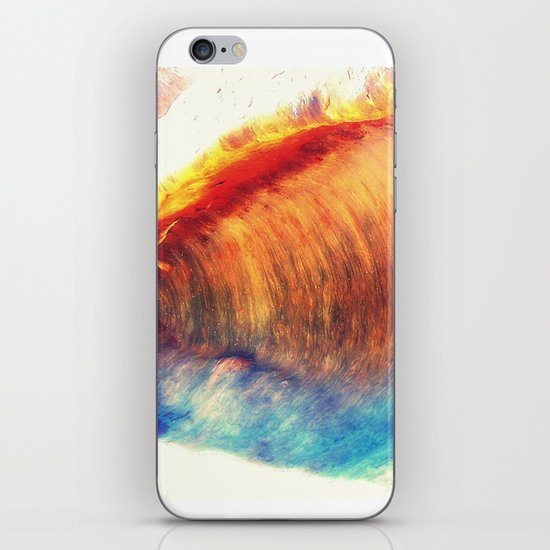 Rainbow Wave iPhone & iPod Skin