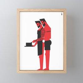 What's cooking honey? Framed Mini Art Print