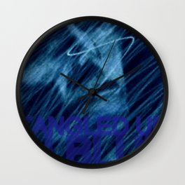 Tangled Up Wall Clock