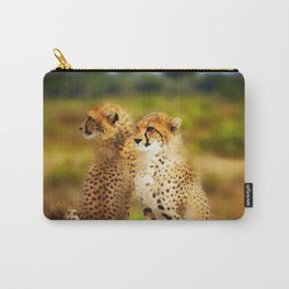 Pair of Cheetahs Carry-All Pouch