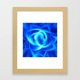 Blue Knot Framed Art Print