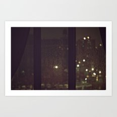 Something About The Rain Art Print