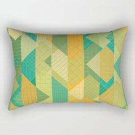 Grids, Lines, Squares Rectangular Pillow