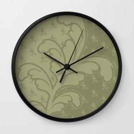Ferny - Moss Wall Clock