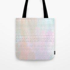 Tribal Pastel Watercolor  Tote Bag