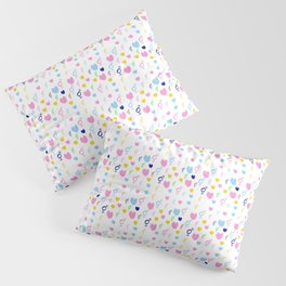 heart and transgender 4 multicolor Pillow Sham