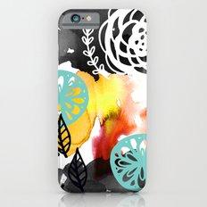 Watercolor Garden iPhone 6s Slim Case