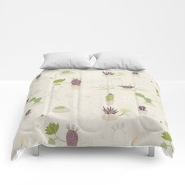My Potted Cactus Pattern Comforters