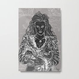 Morgana the High Priestess Metal Print