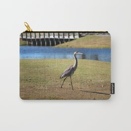 Heron Strolling Carry-All Pouch