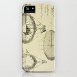 Mathieu's Airship Project iPhone Case