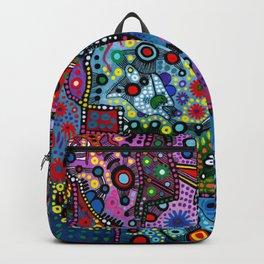 """""""Blue Candy Gloom"""" Backpack"""