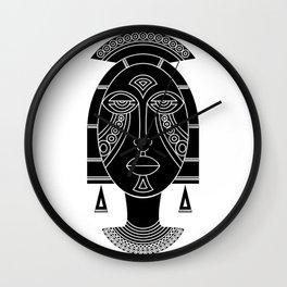 Mask I Wall Clock