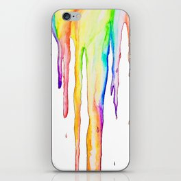 Colorful Icicles iPhone Skin
