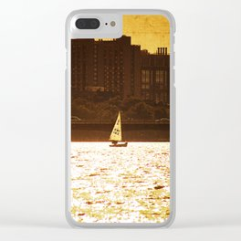 City Backdrop Clear iPhone Case