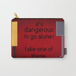 Shaun of the dead - It's dangerous to go alone! Carry-All Pouch