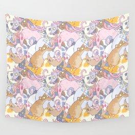 Fancy Rat Pattern Wall Tapestry