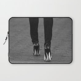 Excess Black and White Laptop Sleeve