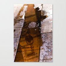 BCN pavement Canvas Print