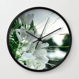 Color Botanical 5 Wall Clock