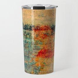 Bateau Dans La Brume Travel Mug