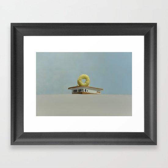 Cheerio Randy's Donuts Framed Art Print