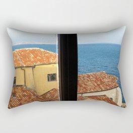 Picasso's Studio View - Antibes Rectangular Pillow