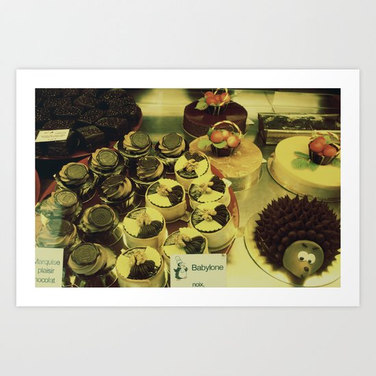 Paris 1 : Edible Window Art Print