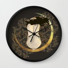 Lamento de Luna Wall Clock