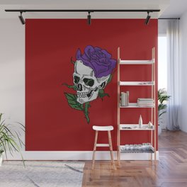 Darkness In Bloom Wall Mural