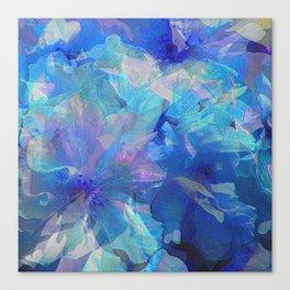 Sakura Blue Canvas Print