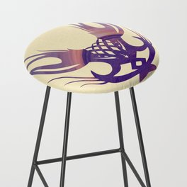 Coastal Tribe Bar Stool