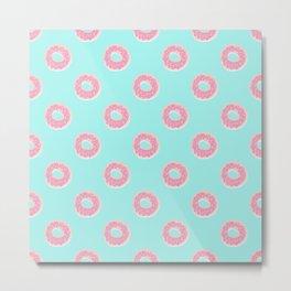 Donut Ocean Metal Print
