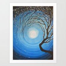 Faint Glimmer Art Print