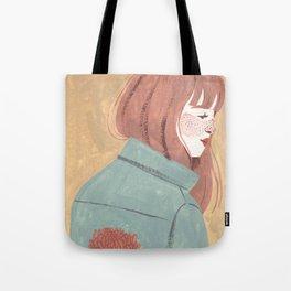 Chrysanthemum Jacket Tote Bag