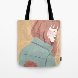 Chrysanthemum Jacket Tote Bag