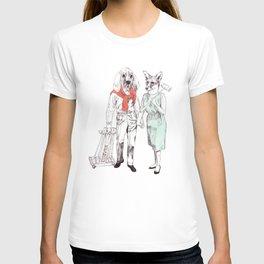 Bestial cricket couple T-shirt