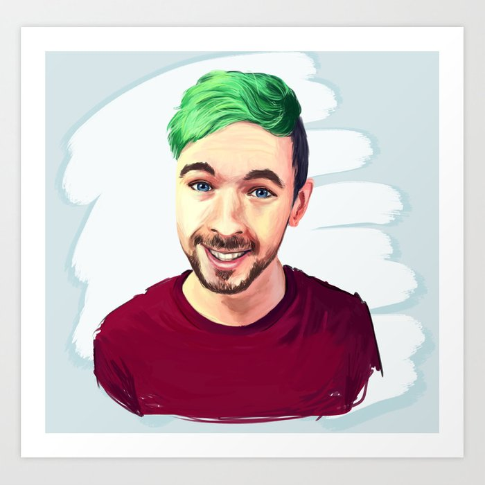 Fresh Jacksepticeye Art Print by jazzysatindoll | Society6 VF38