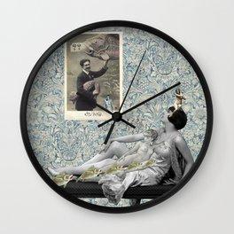Poissons d'Avril Wall Clock