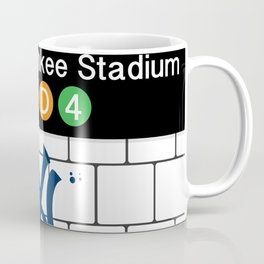 NYC Yankees Subway Coffee Mug