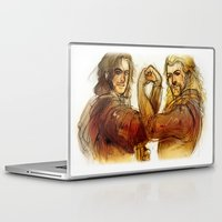 fili Laptop & iPad Skins featuring Fili and Kili by Boisson