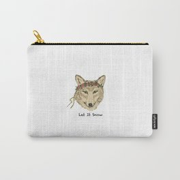 Wolf LET IT SNOW Carry-All Pouch