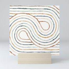 Rainbow Road Mini Art Print